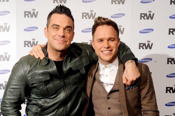 Robbie Williams e Olly Murs
