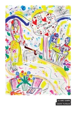 Ilustração de Isabelle Tuchband