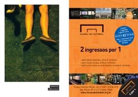 Ilustração de Gilberto Garcia e anúncio