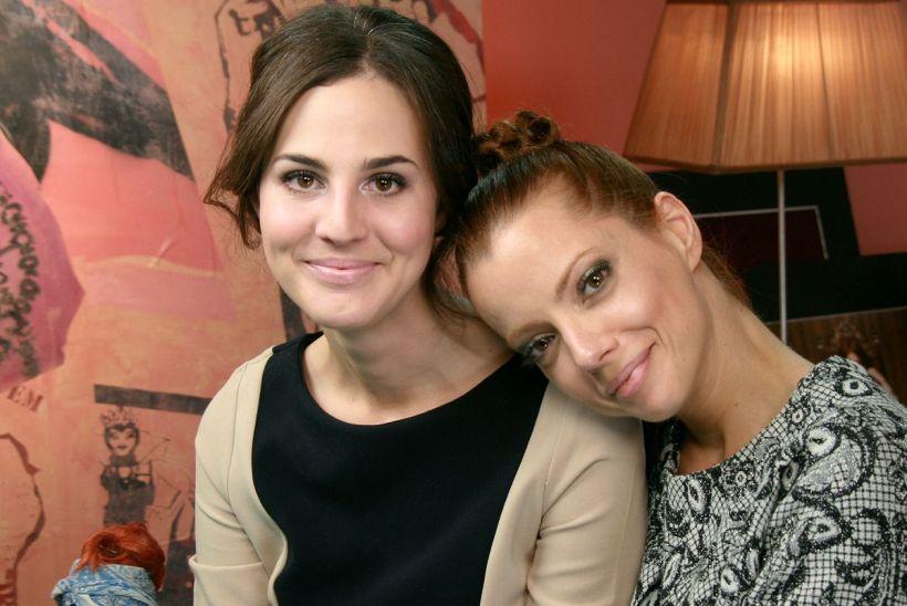 Vic Ceridono e Julia Petit. Lindas, fofas e divas!